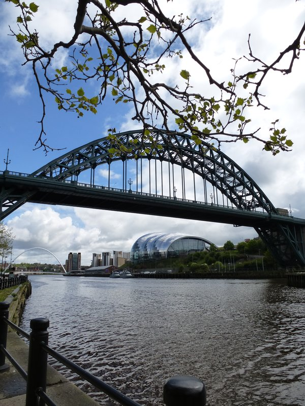 Newcastle's river setting