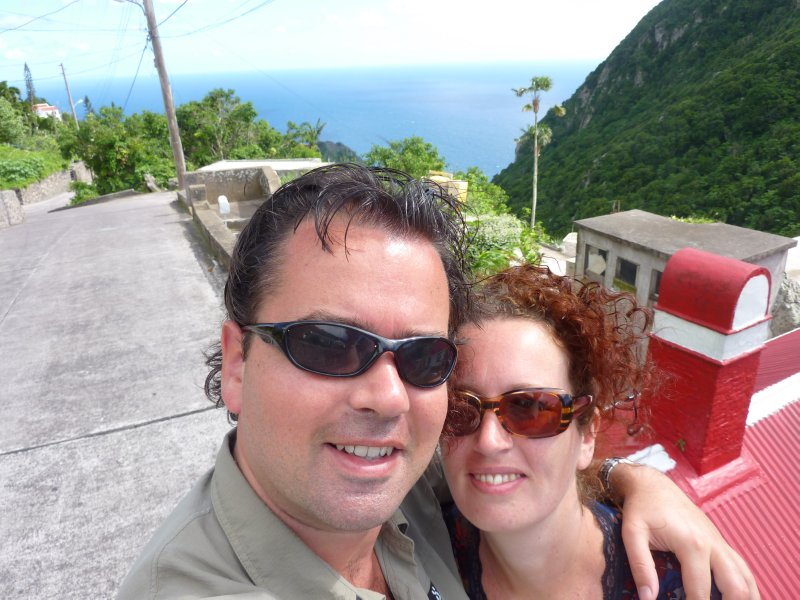 Me and my lady on Saba