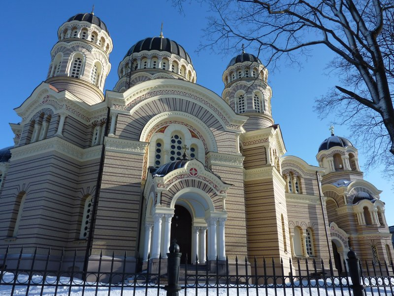 Russian Orthodox Cathedral, Riga