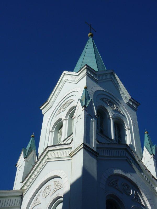 One of Riga's many churches