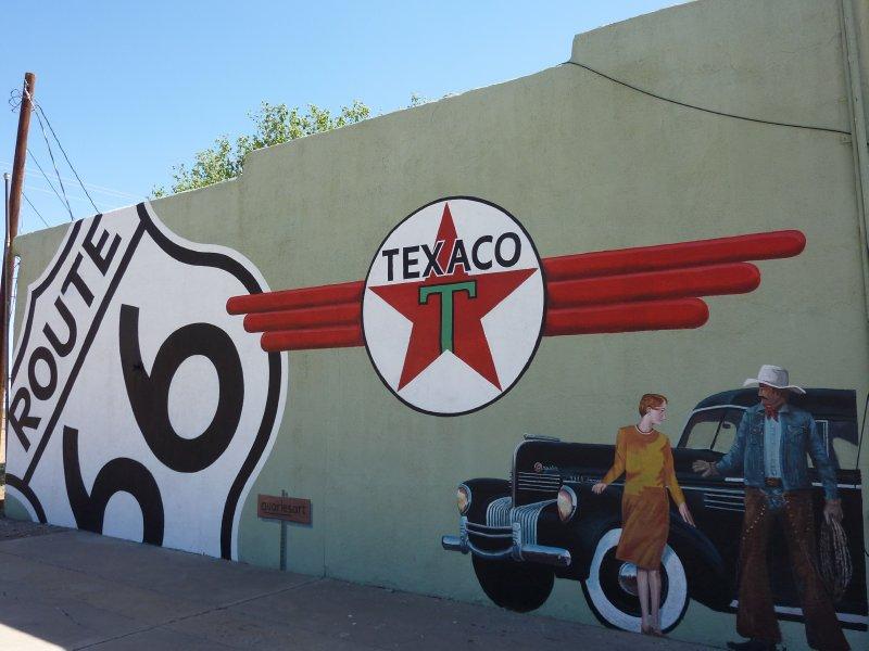 Route 66 mural tucumcari new mexico tucumcari usa for Route 66 mural