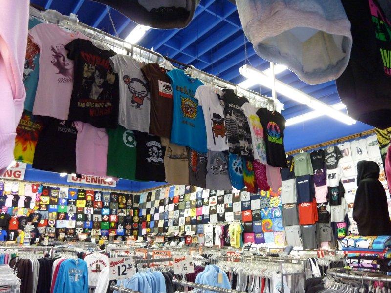 T-shirt shop, Venice Beach