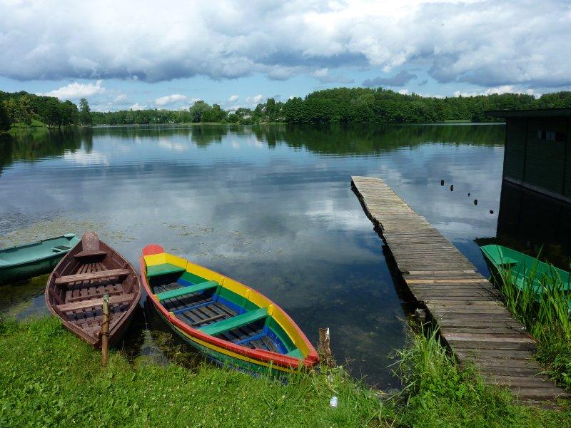 Lake at Trakai