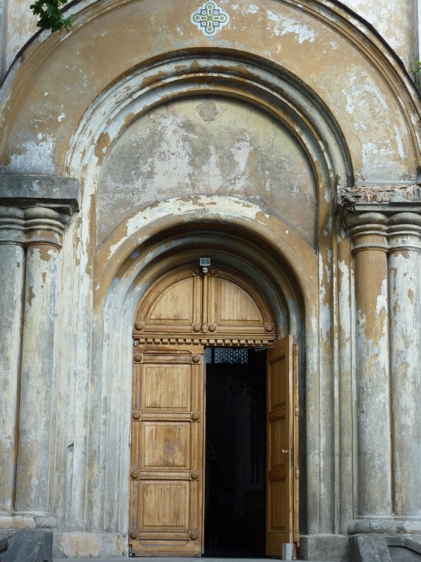 Entrance of the Holy Trinity Church, Vilnius