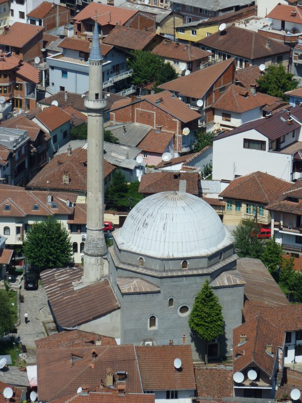 View of one of Prizren's many mosques