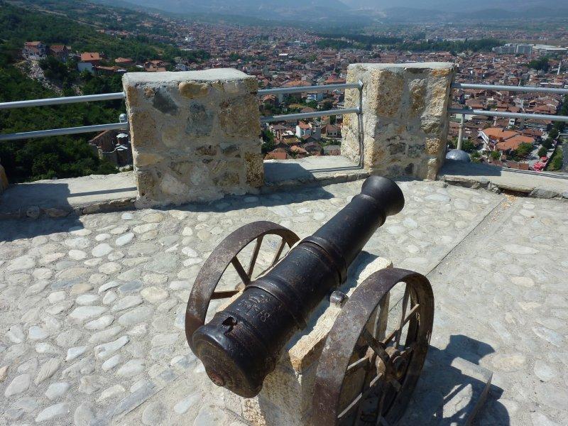 Canon at the Prizren Fortress