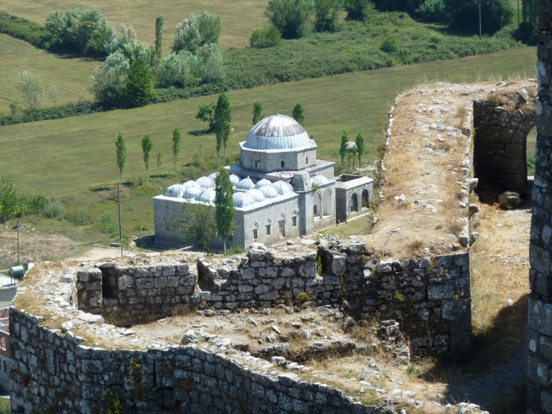 Mosque and Castle ruins, Shkodra