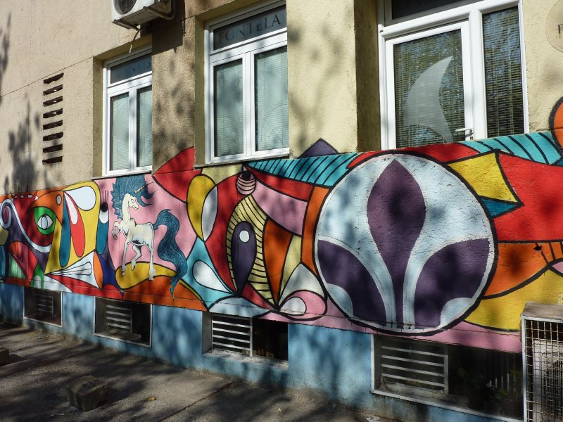 Graffity in Podgorica