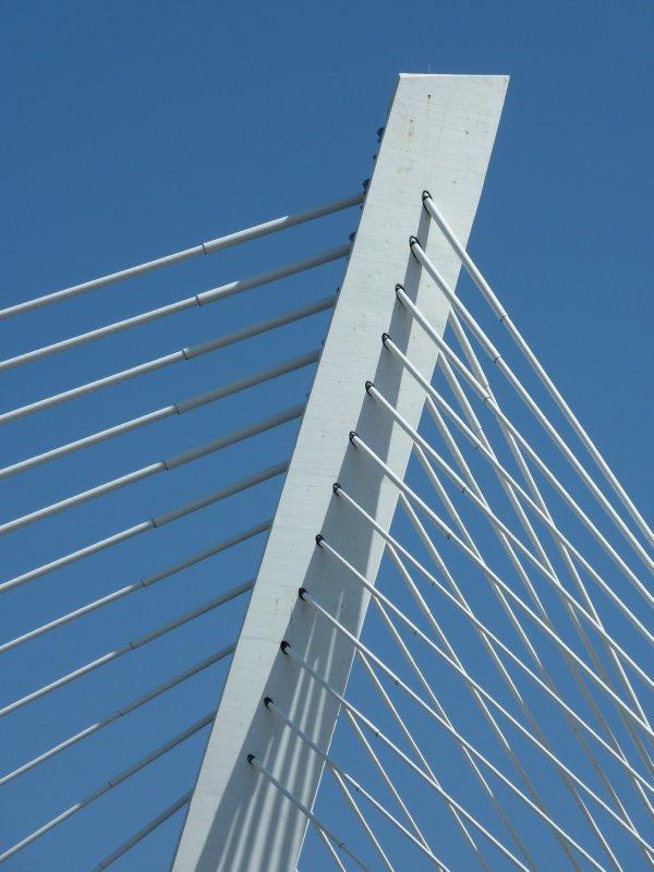 Detail of the Millennium Bridge, Podgorica