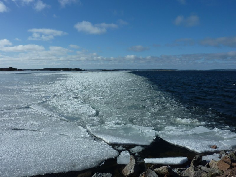 The last ice of the winter
