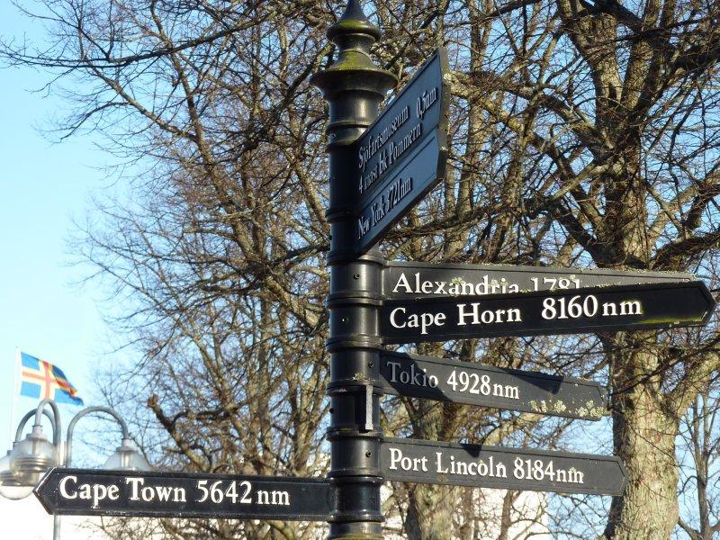 It's a long way from Mariehamn