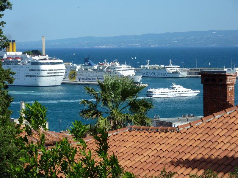 Split's harbour