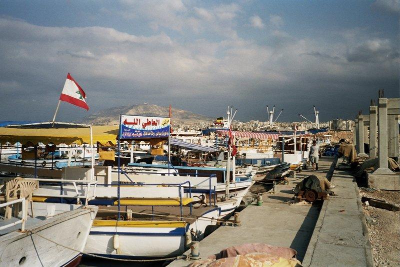 Beirut harbour