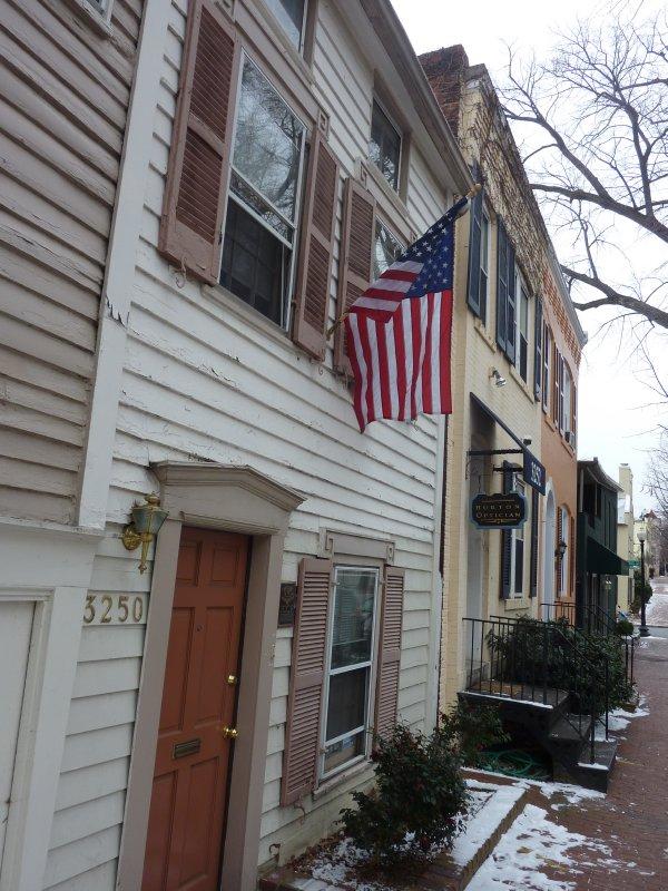 Georgetown houses, DC