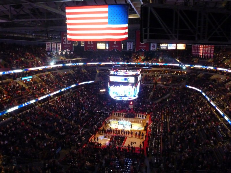 Before the Wizards game