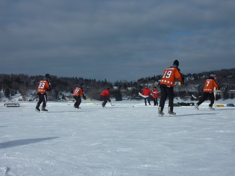 Pond Hockey, Lac Beauport