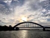 Impressive Bridge and Clouds