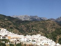 Tolox, one of many white villages in Andalusia