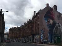 Huge Mural in Glasgow
