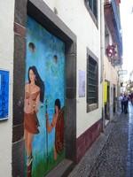 Funchal's Colourful Doors