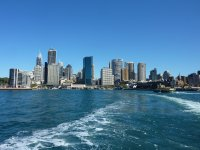 Leaving Circular Quay for Manly