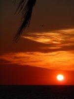 Beautiful sunset over the Gulf of Carpentaria, Karumba