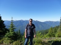 Me at Olympic National Park, Washington State, USA