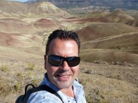 Me at the Painted Hills