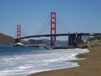 Golden Gate Bridge as seen from Baker Beach