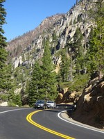 Drive along California Highway 108