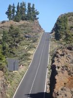 Road through Teide National Park, Tenerife
