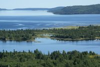 Woods and lakes in Newfoundland