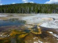 Yellowstone colours