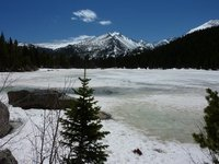 Frozen Bear Lake, Rocky Mountain NP, Colorado