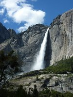 Waterfall in Yosemite NP, California