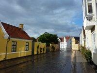 Sunshine after rain, Ribe