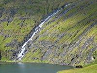 Waterfall at Saksun, Streymoy