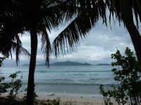 View towards Jost van Dyke from Tortola