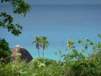 Blue Caribbean Sea