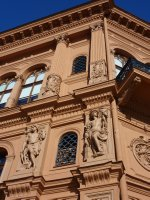 One of Riga's best examples of Art Nouveau (Jugendstill), on Doma Laukums