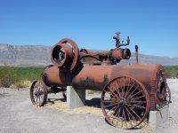 Old working tools, Big Bend NP, Texas
