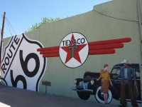 Route 66 mural, Tucumcari, New Mexico