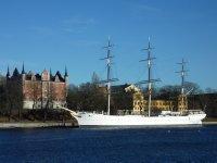 View towards Skeppsholmen