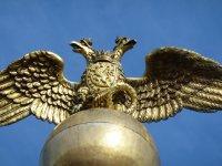 Two-headed Eagle Statue, Helsinki