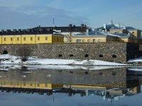 Approaching Suomenlinna fortress island