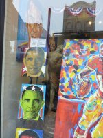 Obama for sale, Georgetown, DC