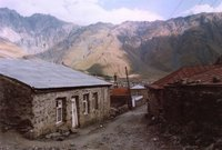 Kazbegi, Kaukasus, northern Georgia