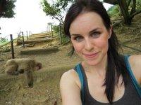 Lauren + Monkey.