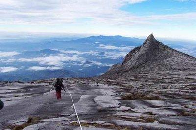 Summit of Mt. Kinabalu (4080 meters)