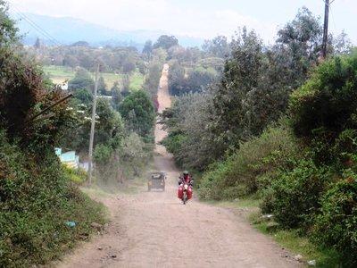 Final journey in the land rover, Nairobi, Kenya